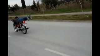 ADANA 'DA MOTOR DENEME (FİRAR)