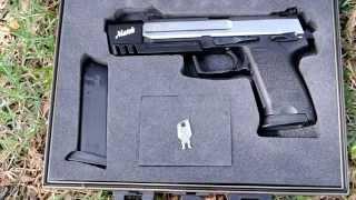 getlinkyoutube.com-Shooting: HK USP Match 9mm - Yes, the Half-Life 2 gun