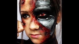 getlinkyoutube.com-Maquillage artistique : Terminator