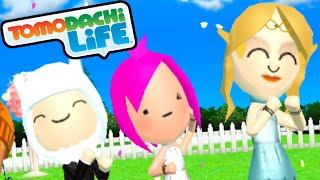 Tomodachi Life 3DS Emma Watson's Wedding, Schoolgirl Uniform Gameplay Walkthrough PART 51 Nintendo