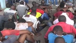 getlinkyoutube.com-Detidos 150 supostos criminosos pela polícia Nacional | Jornal da Zimbo | TV Zimbo |