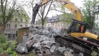 getlinkyoutube.com-Bunker Abbruch Gelsenkirchen Feldmark