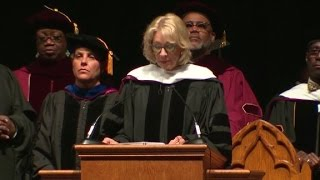 Students boo Education Secretary Betsy DeVos