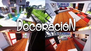 getlinkyoutube.com-Como decorar una casa moderna en Minecraft