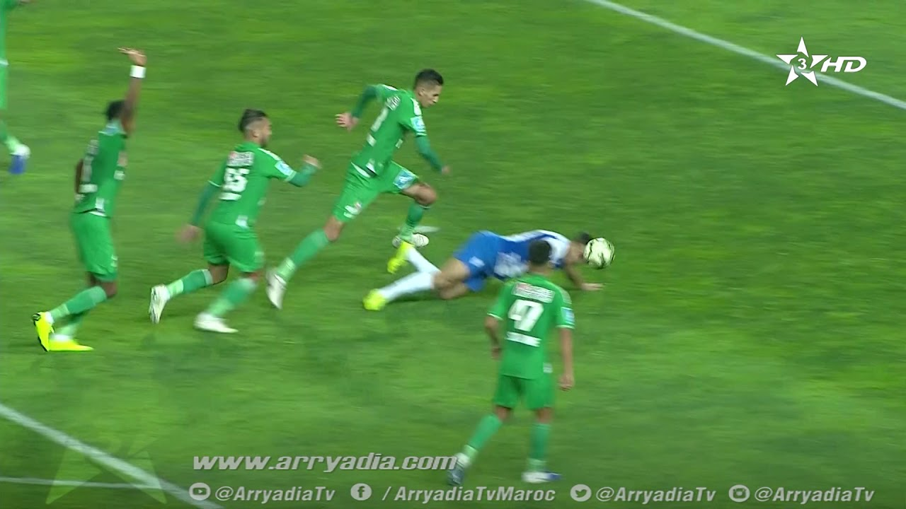 هدف أول ل اتحاد طنجة (محمد العمراوي)