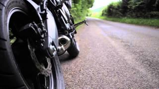 getlinkyoutube.com-Kawasaki Versys 650 Arrow Aluminium Exhaust Sound