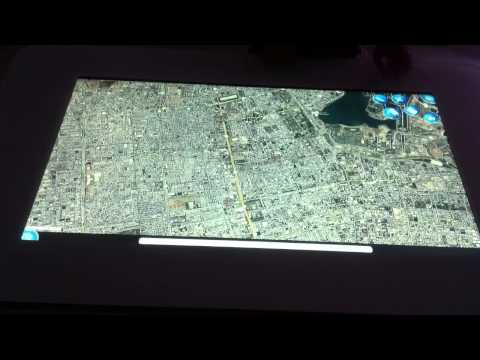 MultiTouch Demo Googl Map App