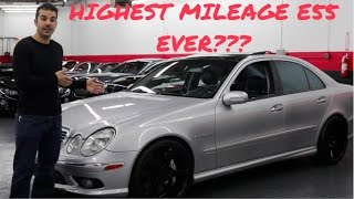 Review of possibly the highest mileage E55 AMG in the World, and its for sale!!