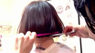 getlinkyoutube.com-YUKI 髪型 紅白 〜YUKI 髪型 ボブ風にヘアカットしてみた 札幌西区美容室