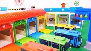 getlinkyoutube.com-Tayo the Little Bus Toys with Learn Color