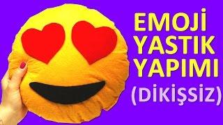 getlinkyoutube.com-Emoji Yastık Yapımı (Dikişsiz) - TumbikTV Kendin Yap