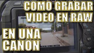 getlinkyoutube.com-TUTORIAL  Video RAW en CANON 600D/T3i con MAGIC LANTERN