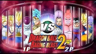 getlinkyoutube.com-Dragon Ball Z Raging Blast 2 - Random Characters 4 (We Are Back!)