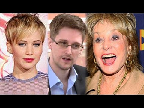Edward Snowden Kept From Top Spot On Barbara Walters' Most Fascinating List