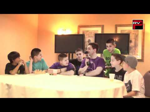Iconic Boyz answer fan questions at NRG Dance Project Tour Day 2 in Sacramento
