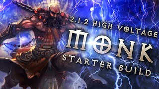getlinkyoutube.com-Best 2.1.2 Monk Starter Build: High Voltage Apprentice - Diablo 3 Reaper of Souls Guide