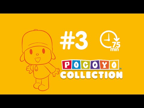 Pocoyo - 90 min. of cartoon for kids | complete episodes PART 3