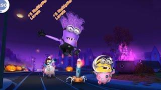 getlinkyoutube.com-Despicable Me 2 - Minion Rush : Astronaut And Evil Minion Vs Meena ! Halloween Map