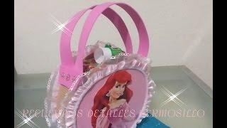 getlinkyoutube.com-DIY como hacer  Bolsa Dulcera  princesa sirenita