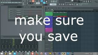 getlinkyoutube.com-FL Studio 12 Tutorial - EASY  - let's make a trance track