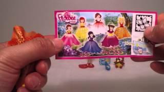 getlinkyoutube.com-Kinder SURPRISE Barbie キンダーサプライズ バービー