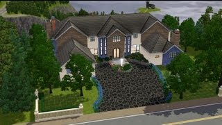 getlinkyoutube.com-The Sims 3 - House Building - Millionaire Mansion