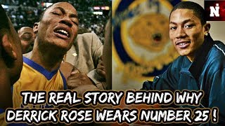 The Real Story Behind Why Derrick Rose Wears Number 25 (UNBELIEVABLE) !