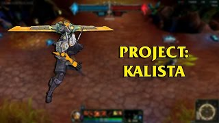 getlinkyoutube.com-PROJECT: Kalista LoL Custom Skin ShowCase