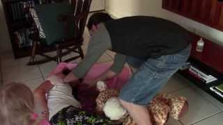 getlinkyoutube.com-Out of Control Baby ties up babysitter
