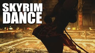 Skyrim Sexy Dance with Bounciness (HDT)
