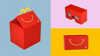 McDonald's Are Now Making Their Own VR Headsets (Happy Goggles) !!!