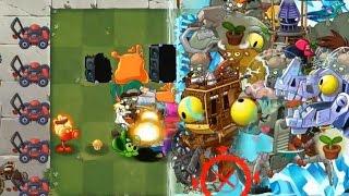getlinkyoutube.com-Plants vs Zombies 2 - All Plants vs All Zomboss MADNESS!