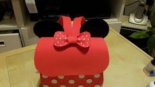 getlinkyoutube.com-Saiba como fazer a mochila do Mickey e da Minnie