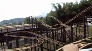 getlinkyoutube.com-Gold Coaster @ Mikei Funland, Berastagi Indonesia