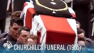 getlinkyoutube.com-Churchill's Funeral: World In Remembrance (1965)