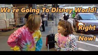 getlinkyoutube.com-Surprise we're going to Disney World
