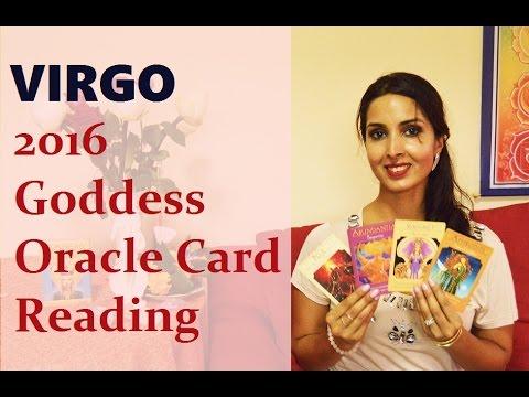 Virgo 2016 Goddess Oracle Card Reading