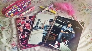 getlinkyoutube.com-DIY: Cadernos personalizados ✏ Volta ás aulas