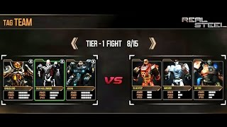 getlinkyoutube.com-REAL STEEL DREADLORD & Zeus & ASURA VS Ambush & Blacktop & Metro New Robots Update