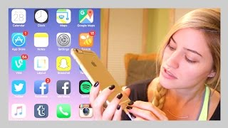 getlinkyoutube.com-What's on my iPhone 6s Plus?