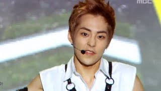 getlinkyoutube.com-EXO - Growl, 엑소 - 으르렁, Music Core 20130817