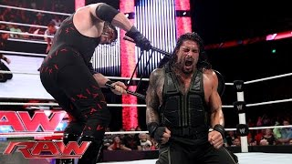 Roman Reigns vs. Kane - Last Man Standing Match: Raw, Aug. 4, 2014 width=