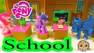 getlinkyoutube.com-MLP School with Pinkie Pie, Twilight and Princess Luna - My Little Pony Classroom - Cookieswirlc