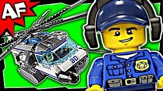 Lego City Police HELICOPTER SURVEILLANCE 60046 Stop Motion Build Review