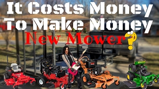 I BOUGHT A MOWER! What is It? VLOG #40 ► SCAG | Wright | John Deere | Gravely | ExMark