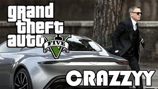 getlinkyoutube.com-GTA James Bond Spectre DB10 Epic Car Chase Spoof Remake | Rockstar Creator