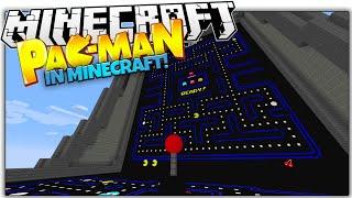 getlinkyoutube.com-PAC MAN IN VANILLA MINECRAFT! | Working Joystick, Highscores & More! (Minecraft Redstone)
