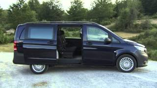 getlinkyoutube.com-2015 Mercedes Benz Vito Mixto 119 BlueTEC Interior and Exterior