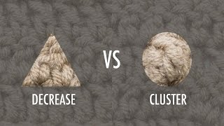 getlinkyoutube.com-The Difference Between A Cluster And A Decrease :: Crochet Tip #26