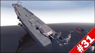 getlinkyoutube.com-IOWA BATTLESHIP vs 3 SCHWERER GUSTAV RAILWAY GUNS - Men of War Assault Squad 2 - Mini Scenario #31